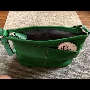 Brand new The Sak handbag. Fresh green color!
